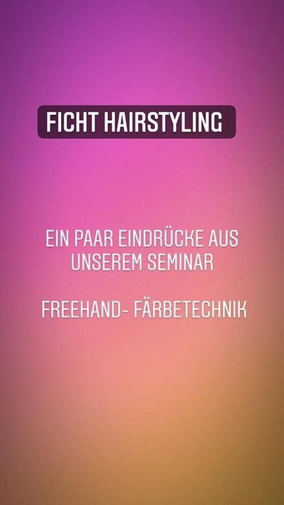 Photos from Ficht Hairstyling's post