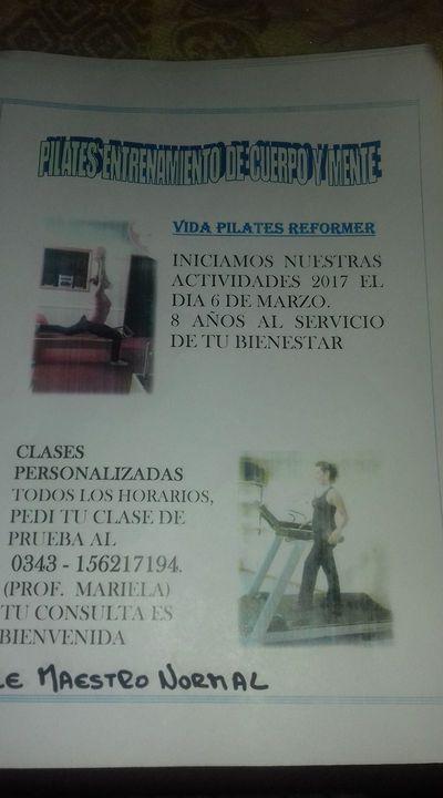 Vida Pilates Reformer Parana E Ríos Maestro Normal 1631